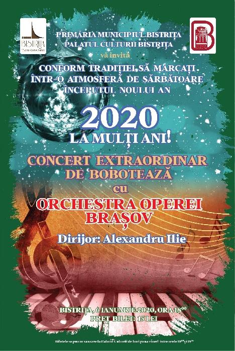 Concert extraordinar de BOBOTEAZĂ - 6 ianuarie 2020, ora 18.00
