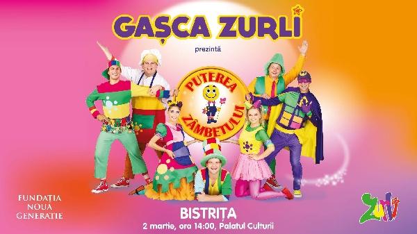 """Gasca Zurli - """"Puterea zâmbetului"""" - 2 Martie 2019, ora 11.00 / 14.00"""