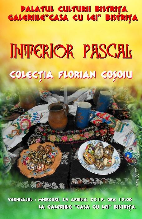 """""""Interior Pascal"""" - expoziție Florian Coșoiu - miercuri, 24 Aprilie 2019, ora 13.00 - Casa cu Lei"""