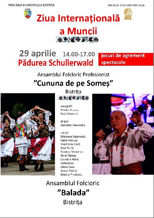 Ziua Internațională a Muncii - 29 aprilie 2018, complex Schullerwald