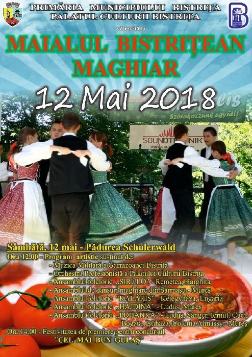 Maialul Bistrițean Maghiar - 12 mai 2018, pădurea Schulerwald