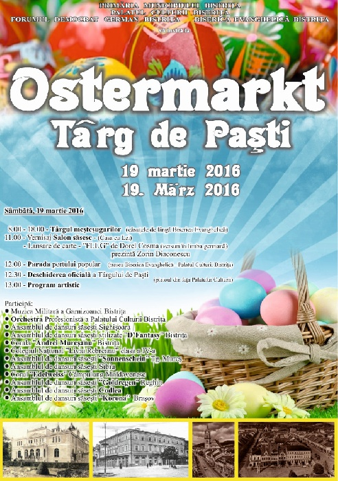 OSTERMARKT - Targ de Pasti - 19 martie 2016
