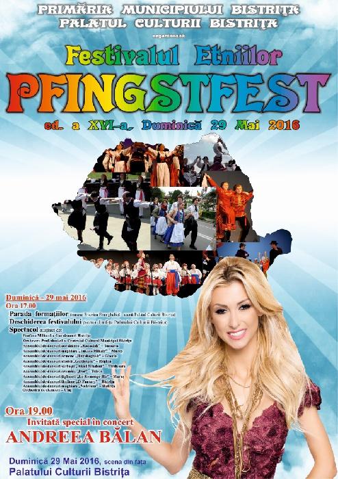 Festivalul Etniilor -PFINGSTFEST- Duminica, 29 Mai 2016