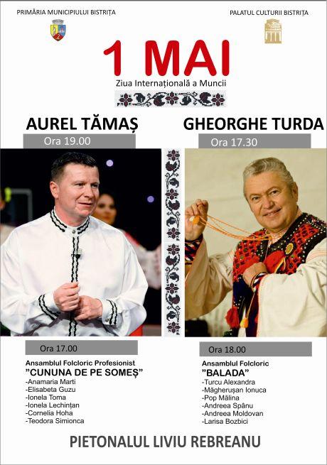1 Mai - Ziua Internationala a Muncii, Luni de la orele 17.00 pe Pietonal