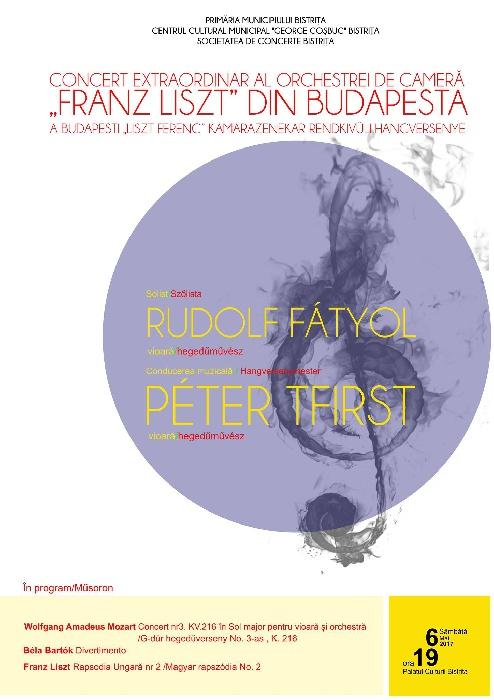 Concert Simfonic - sambata, 6 Mai 2017, ora 19.00