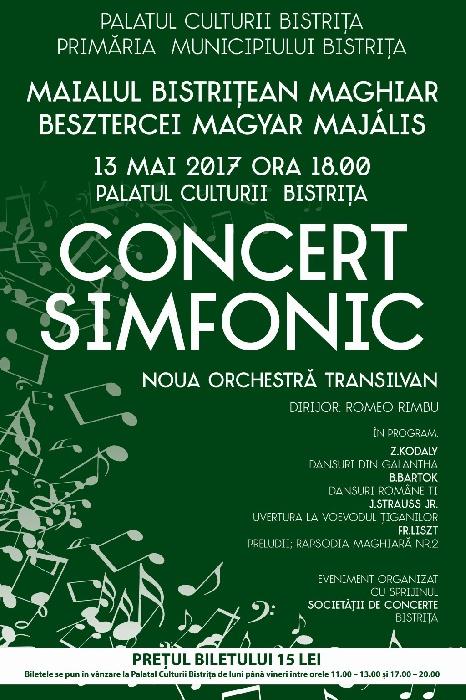 Maialul Maghiar - Concert Simfonic, 13 Mai 2017, ora 18.00