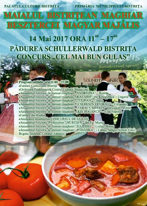 Maialul Maghiar - Spectacol si concurs de gulas - 14 Mai 2017