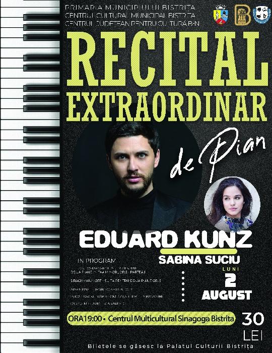 RECITAL EXTRAORDINAR DE PIAN - EDUARD KUNZ&SABINA SUCIU