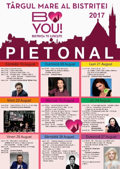 TÂRGUL MARE AL BISTRIȚEI,  19- 27 August 2017