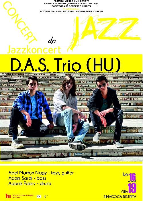 Concert de Jazz - Luni, 16 august, ora 19.00 - Sinagoga Bistrita