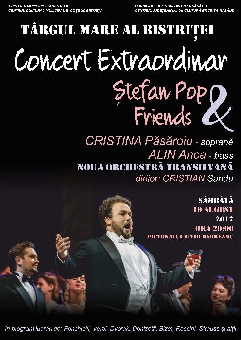Concert Extraordinar ȘTEFAN POP & Friends