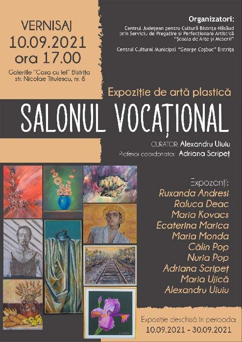 Expoziție de artă plastică - SALONUL VOCAȚIONAL