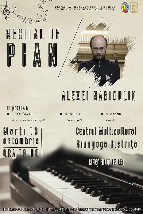 RECITAL DE PIAN - Alexey Nabioulin