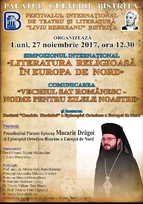 Simpozion Internațional - Literatura religioasă în Europa de nord