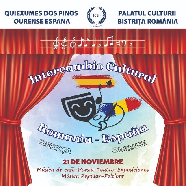 Schimb cultural România - Spania, sâmbătă 21 noiembrie 2020, ora 18.00 - live pe facebook
