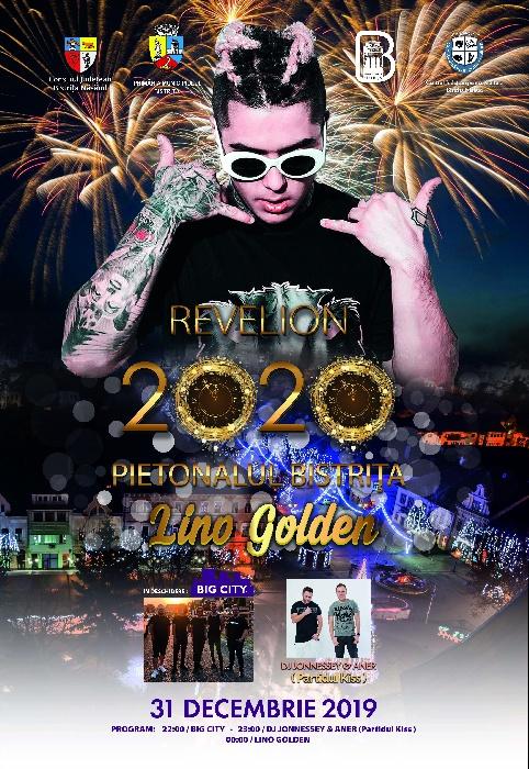 REVELION 2020 - pietonal, 31 decembrie 2019, orele 22.00 - 01.00