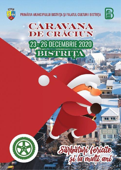 Caravana de Crăciun, 23 - 26 decembrie 2020
