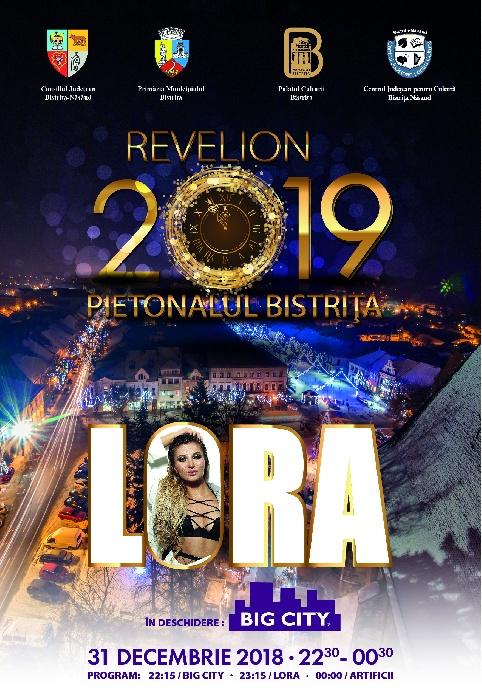 REVELION pe pietonal - 31 Decembrie 2018, ora 22.30