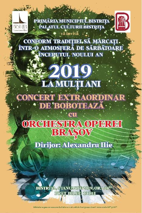 Concert Extraordinar de BOBOTEAZĂ - 6 ianuarie 2019, ora 18.00