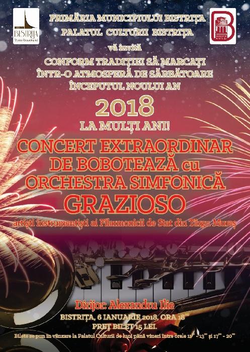 Concert Extraordinar de Boboteaza - 6 ianuarie 2018, ora 18.00